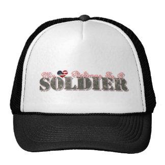 Mi corazón pertenece a un soldado (vuelto a clasif gorros