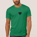 Mi corazón pertenece a una camarera camiseta