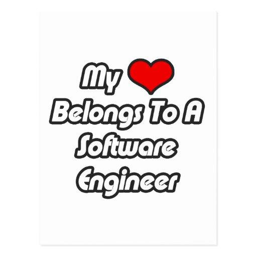 Mi corazón pertenece a una Software Engineer Postal