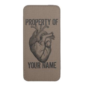 Mi corazón pertenece a usted funda para iPhone 5