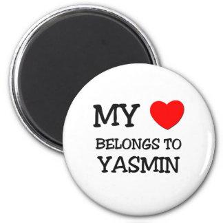 Mi corazón pertenece a YASMIN Imán