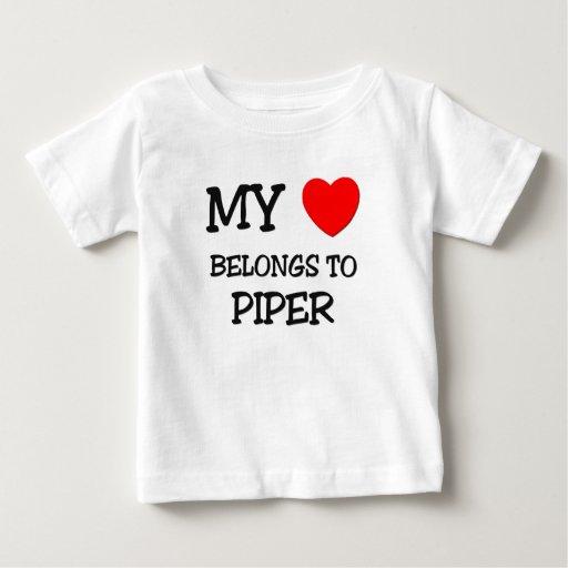 Mi corazón pertenece al GAITERO T Shirts