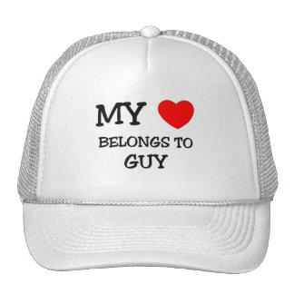 Mi corazón pertenece al individuo gorras de camionero