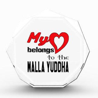 Mi corazón pertenece al Malla-Yuddha.