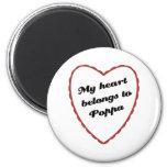 Mi corazón pertenece al Poppa Imán