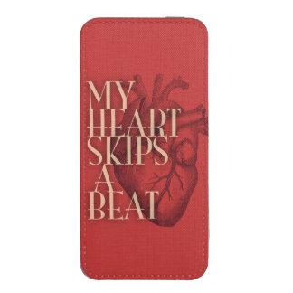 Mi corazón salta un golpe bolsillo para iPhone