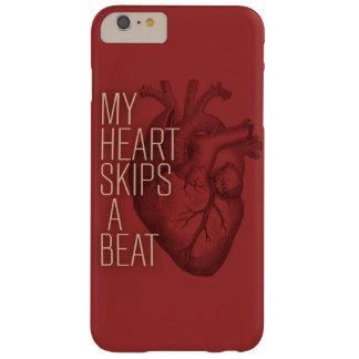 Mi corazón salta un golpe funda de iPhone 6 plus barely there
