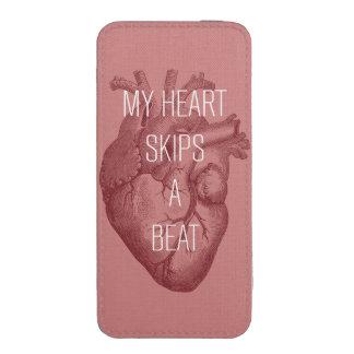 Mi corazón salta un golpe funda para iPhone 5