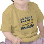 Mi corazón y alma están en Carolina del Norte Camiseta