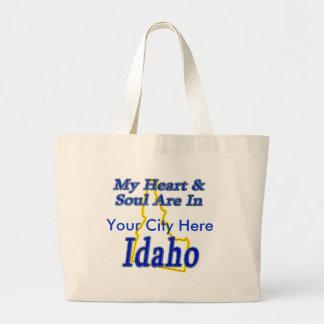 Mi corazón y alma están en Idaho Bolsas De Mano