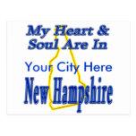 Mi corazón y alma están en New Hampshire Postal