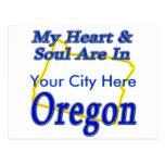 Mi corazón y alma están en Oregon Postales
