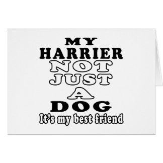 Mi corredor de cross no apenas un perro es mi mejo tarjeta de felicitación