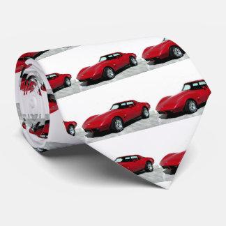 Mi Corvette de 1979 rojos Corbata Personalizada