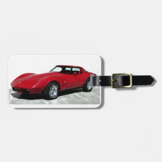 Mi Corvette de 1979 rojos Etiquetas Maletas