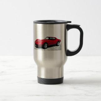 Mi Corvette de 1979 rojos Tazas De Café
