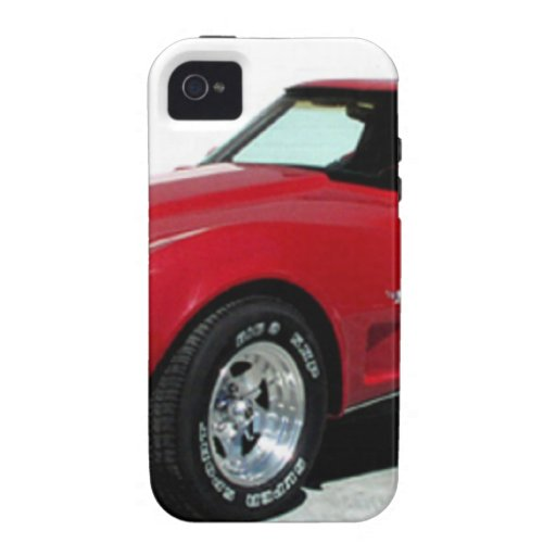 Mi Corvette de 1979 rojos Vibe iPhone 4 Carcasa