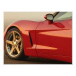 Mi Corvette rojo Invitación 10,8 X 13,9 Cm