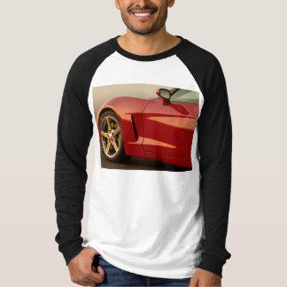 Mi Corvette rojo Remeras