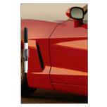 Mi Corvette rojo Tableros Blancos