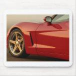 Mi Corvette rojo Tapetes De Ratón