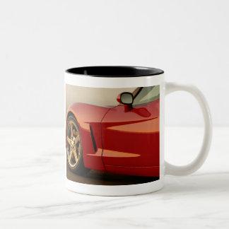 Mi Corvette rojo Taza De Café