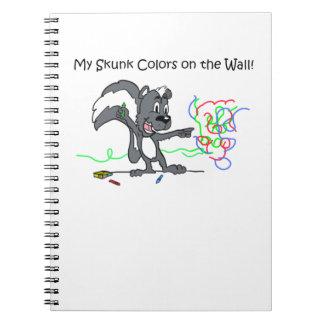 Mi cuaderno de la mofeta