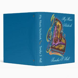 """Mi cuaderno de la música carpeta 1"""""""