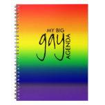 Mi cuaderno gay del orden del día