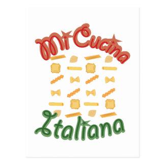 Mi Cucina Italiana Postcard