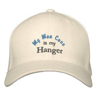 Mi cueva del hombre es mi gorra de la suspensión gorra de béisbol bordada