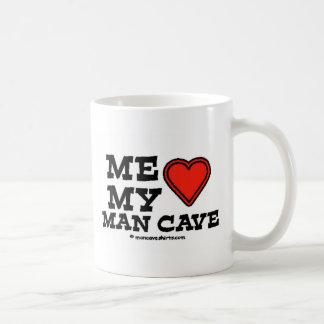 Mi cueva del hombre taza clásica