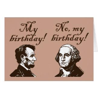 Mi cumpleaños tarjeta de felicitación