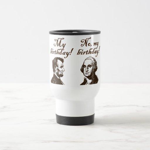 Mi cumpleaños taza de viaje de acero inoxidable