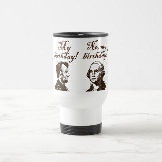 Mi cumpleaños tazas