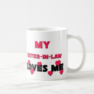 Mi cuñada me ama taza de café
