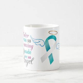 Mi cuñada un ángel - cáncer de cuello del útero taza básica blanca