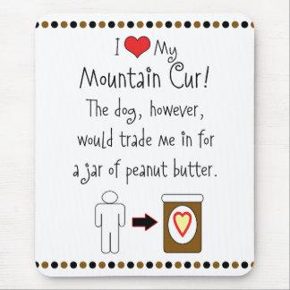 Mi Cur de la montaña ama la mantequilla de Tapetes De Ratones