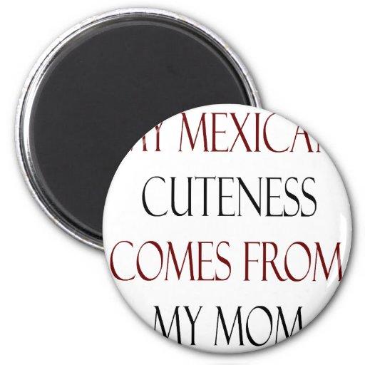 Mi Cuteness mexicano viene de mi mamá Iman De Frigorífico