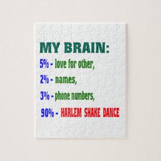 Mi danza de la sacudida del cerebro el 90% Harlem Rompecabezas Con Fotos