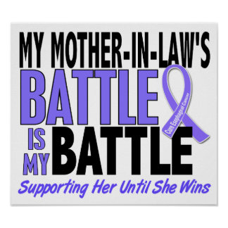 Mi de la batalla cáncer del esófago de la suegra t posters