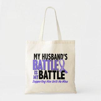 Mi de la batalla cáncer del esófago del marido tam bolsa tela barata