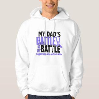 Mi de la batalla cáncer del esófago del papá sudadera