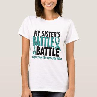 Mi de la batalla cáncer ovárico de la hermana playera