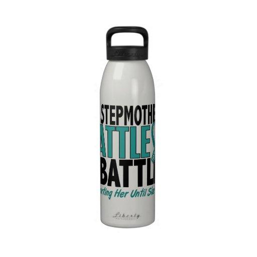 Mi de la batalla cáncer ovárico de la madrastra ta botella de beber
