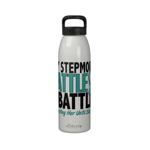 Mi de la batalla cáncer ovárico de la madrastra ta botella de agua reutilizable