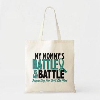 Mi de la batalla cáncer ovárico de la mamá también bolsas de mano