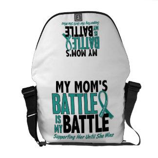 Mi de la batalla cáncer ovárico de la mamá también bolsa de mensajeria
