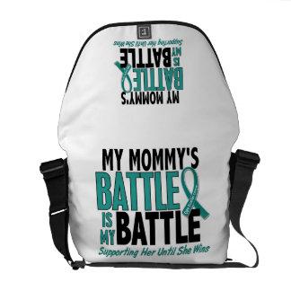 Mi de la batalla cáncer ovárico de la mamá también bolsa messenger