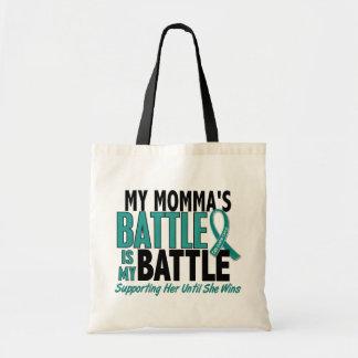 Mi de la batalla cáncer ovárico de Momma también Bolsas